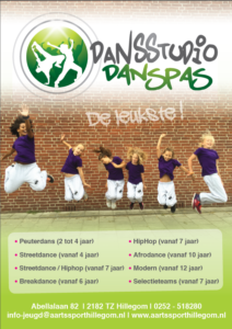 flyer danspas